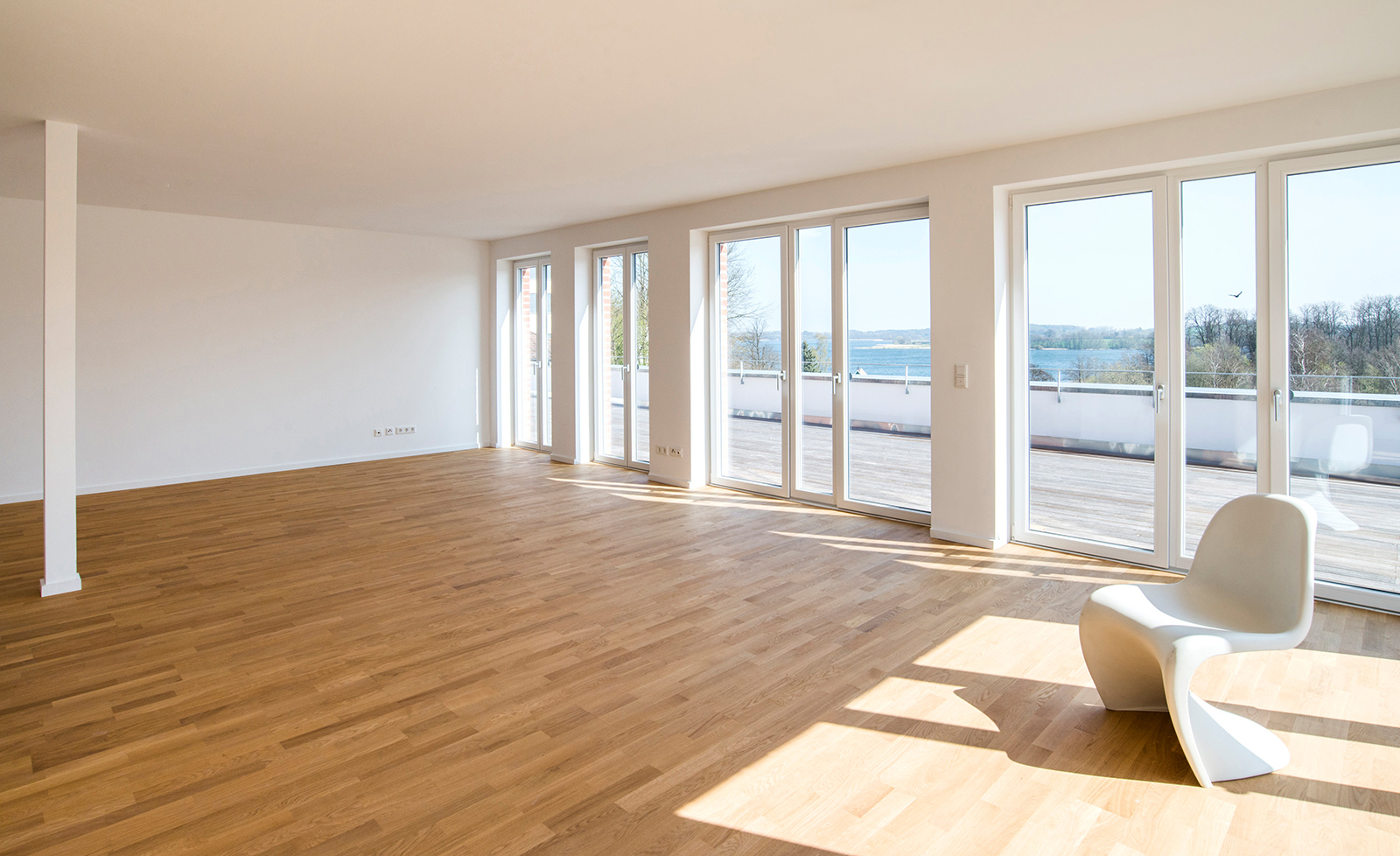 Ds immobilien penthouse wohnung am gro en segeberger see for Wohnung immobilien